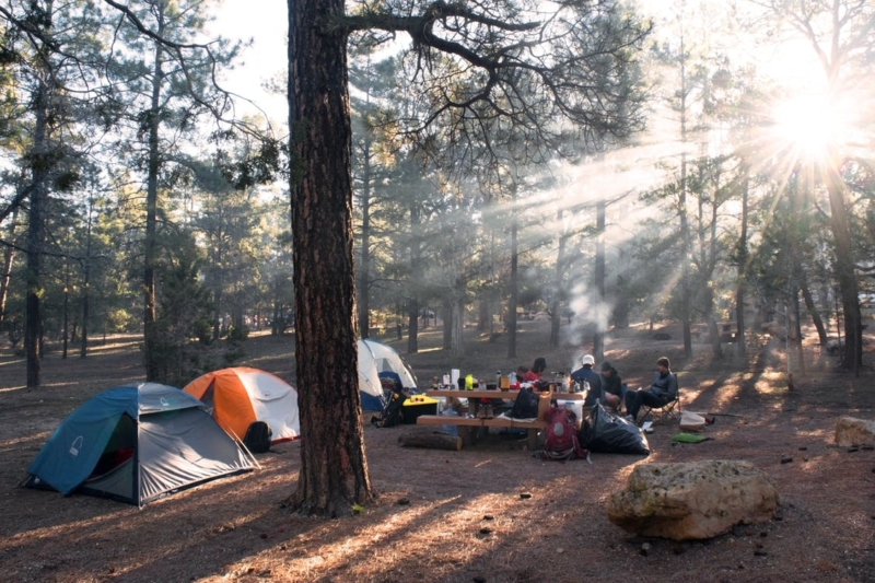Positivivus ja Weekend festivali laagrivarustus