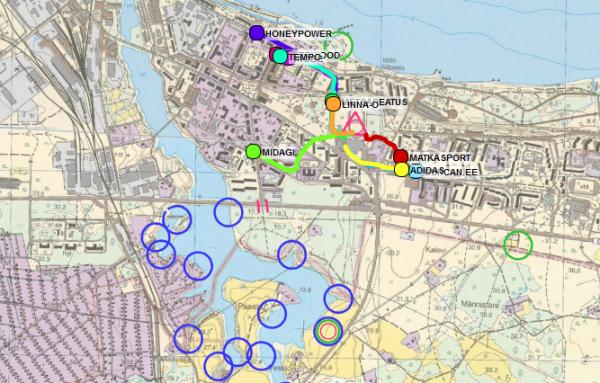Xdream seiklussport Sillamäel GPS jälgimine MATKaSPORT