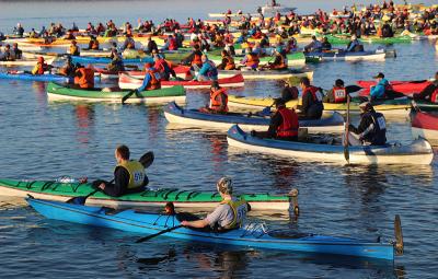 Võhandu maraton start Tamula järv I MATKaSPORT