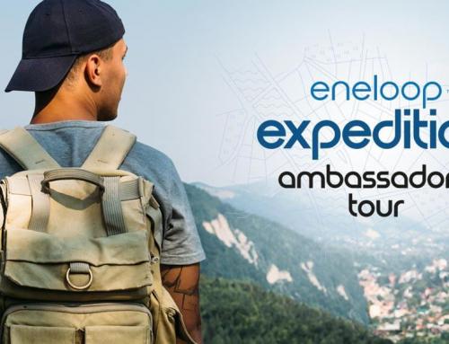 Algab heategevuslik ringreis läbi Euroopa ehk eneloop ambassadors' tour.