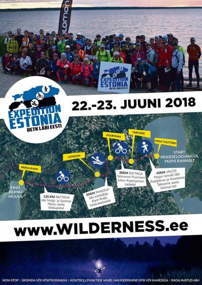 Wilderness Expedition Estonia MATKaSPORDI kalendris
