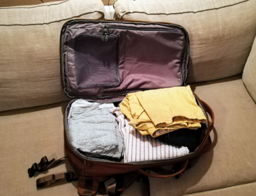 Kuidas ma valisin käsipagasi reisikotti