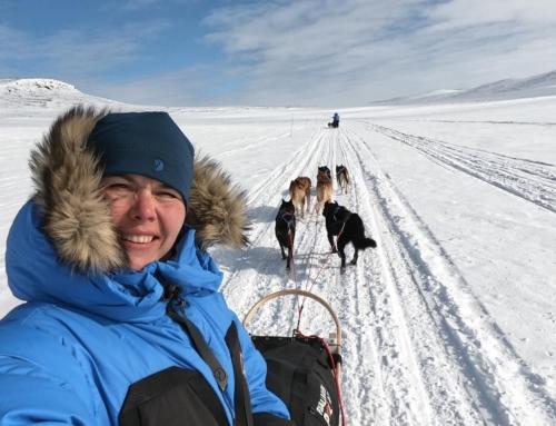 Maiu Lünekund Fjällraven Polar 2019 polaarmatkal
