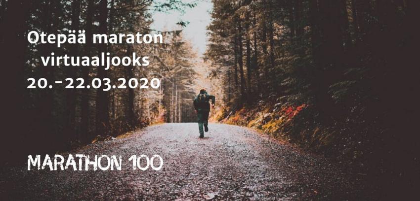 Otepää maraton, virtuaaljooks