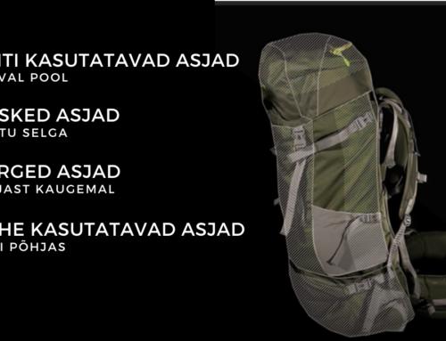 Kuidas pakkida seljakotti?