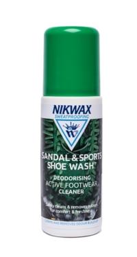 Sandaalide pesemine