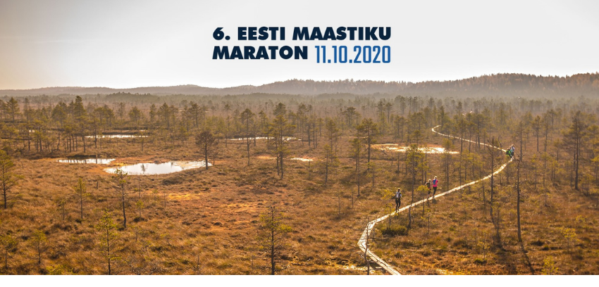 Eesti Maastiku Maraton 2020 Estonian Wilderness Marathon