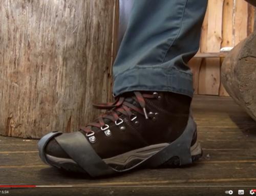 Video ja blogi. Libisemise vastased jäätallad talvejalatsitele. MATKaVIDIN