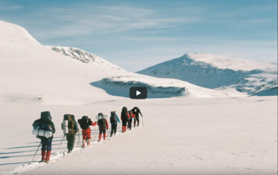talvematk talvel matkamine matkasport