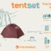 Innovatiivne telgilahendus Ferrino Tent Set.